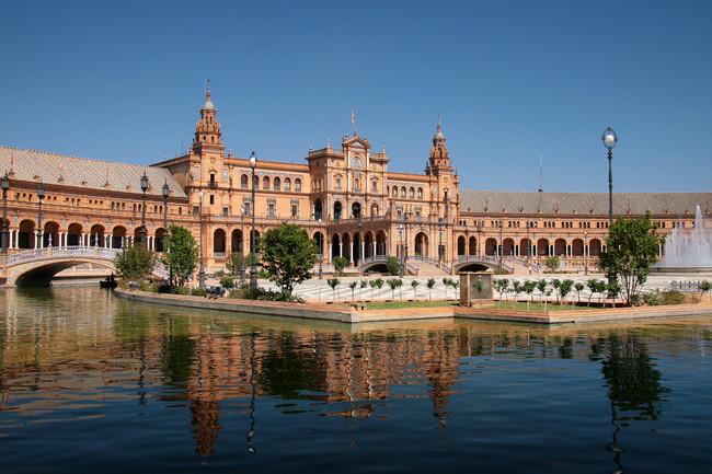 Plaza De Espana Sevilla 2017