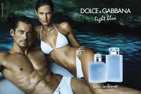 David Gandy para Light Blue de Dolce & Gabbana