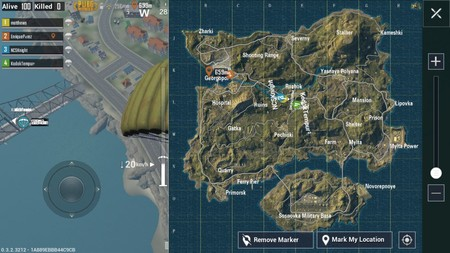 Mapa Pubg