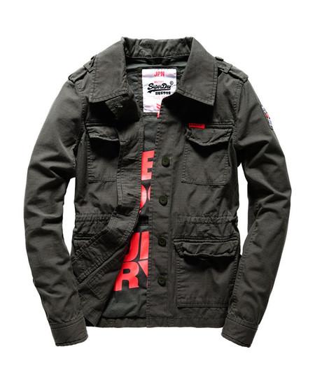 Superweekend en eBay: chaqueta  Superdry   Rookie Army  rebajada a 45,95 euros con envío gratis