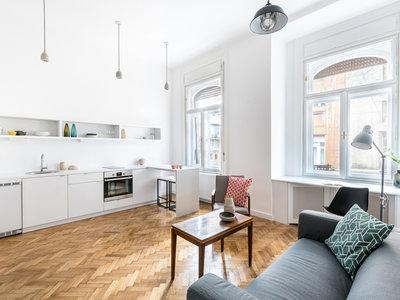 Este apartamento puede ser transformado en 3 estudios independientes