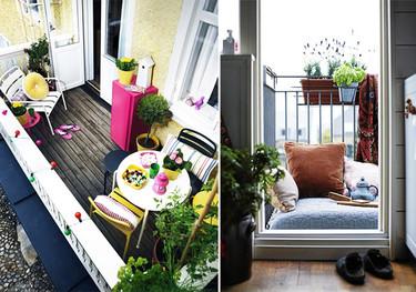 Balcones para inspirarse, porque no solo de terrazas vive el hombre
