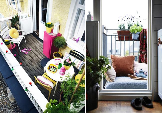 Balcones para inspirarse porque no solo de terrazas vive el hombre - Decorar balcon pequeno ...