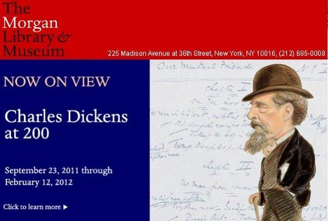 """""""Charles Dickens a los 200"""" se expone en Nueva York"""