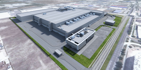 Dyson Automotive Manufacturing Facility Render 2