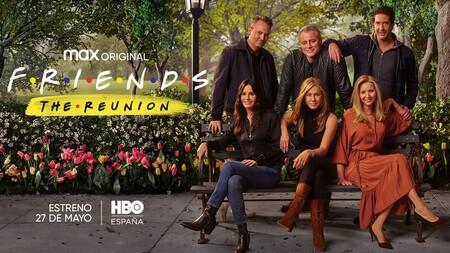 'Friends: The Reunion': HBO confirma la fecha de estreno en España del esperado reencuentro
