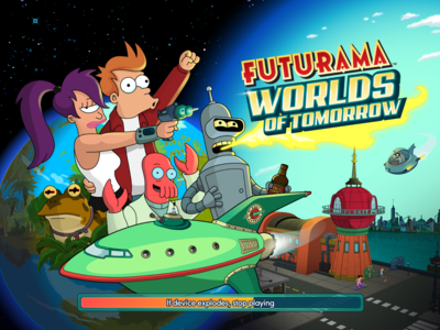 Futurama resucita en tu iPhone gracias a su último y divertidísimo juego Worlds of Tomorrow