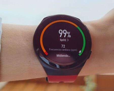 Todas las pulseras y smartwatch con sensor SpO2 para medir la saturación de oxígeno en sangre