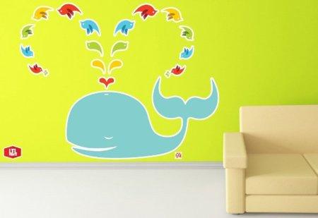 Imagen de la semana: decora tu casa con la failwhale de Twitter