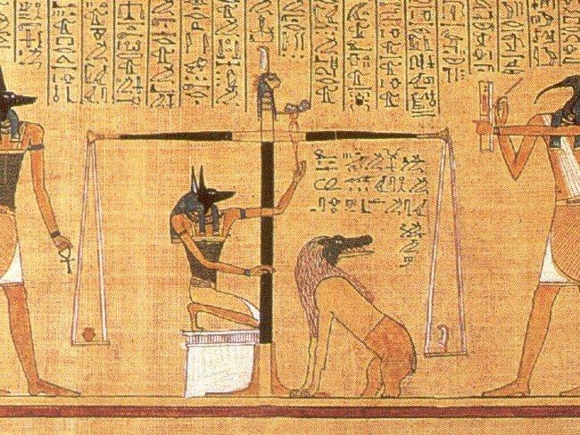 Báscula egipcia