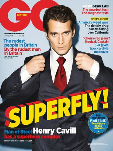 Henry Cavill, debajo de ese Clark Kent está un Superman