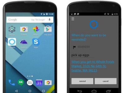 Cortana tendrá versión beta en Android en julio, la final llegará en otoño