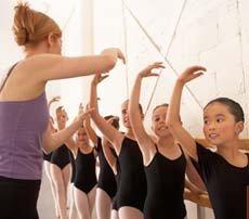 Bailar ayuda a los niños hiperactivos