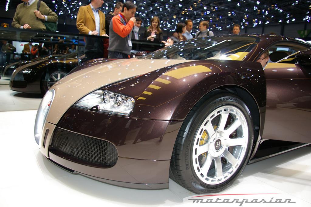 Foto de Bugatti Veyron Hermès en el Salón de Ginebra (9/24)