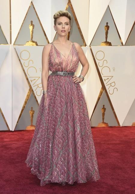 Scarlett Johansson Alaia Oscars2017