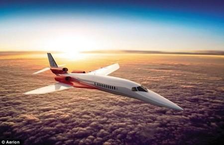 El heredero del Concorde será así