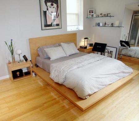 Las camas con maderas que sobresalen no son tan prácticas