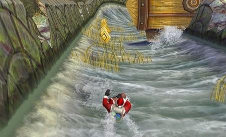 Actualización navideña de Temple Run 2 incluye a Santa y toboganes de agua