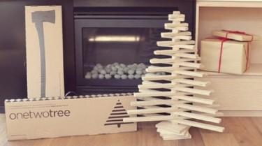 Onetwotree, un árbol de Navidad de sobremesa