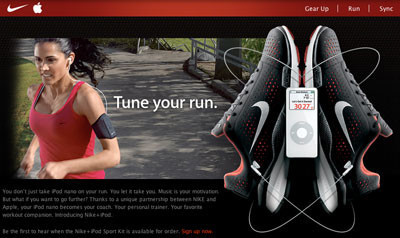 Apple Nike+iPod, ¿peligroso?