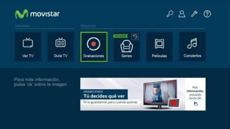 Grabaciones de Movistar TV, guardando tus programas favoritos directamente en la nube