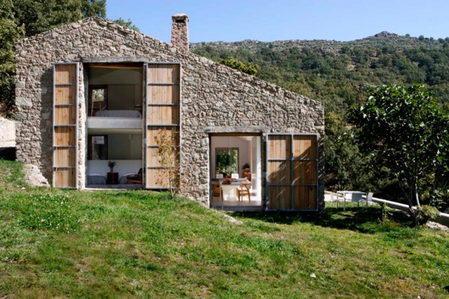 Establo de Extremadura transformado en vivienda