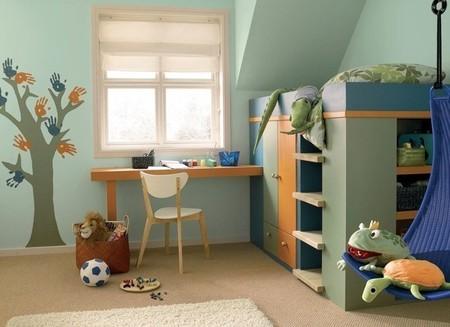 Cinco consejos para pintar la habitación de los niños