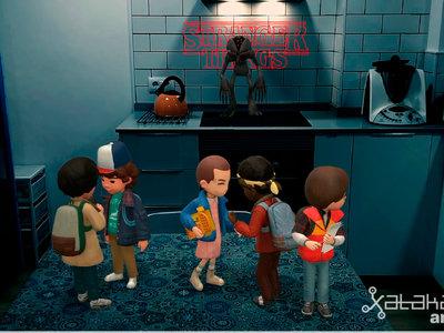 Probamos las Pegatinas AR de Google en el Pixel 2 XL: así es tener a los personajes de Stranger Things en casa