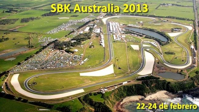 SBK Australia 2013