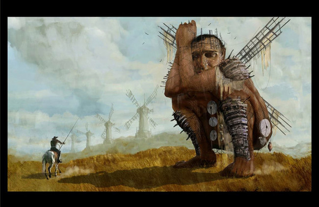 Concept Art Don Quixote