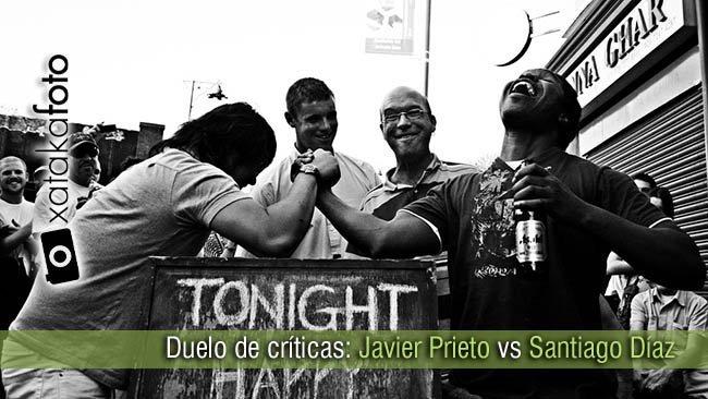 Cabecera duelo de críticas: Javier Prieto vs Santiago Díaz - I