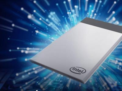 Este computador tiene el tamaño de una tarjeta de crédito, es de Intel y será una realidad en agosto