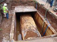 Hoy es el día, el Plymouth Belvedere de la cápsula del tiempo ha sido desenterrado