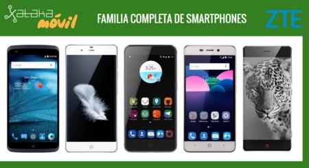 Así queda el catálogo de smartphones ZTE tras la llegada de los nuevos ZTE Blade V7 y Blade V7 lite