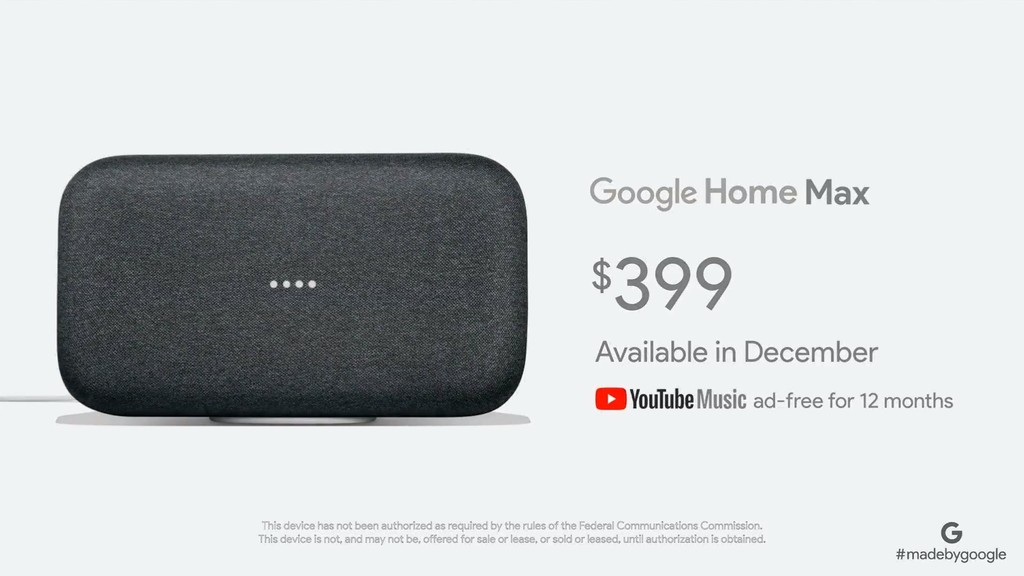 Google Home Max 1