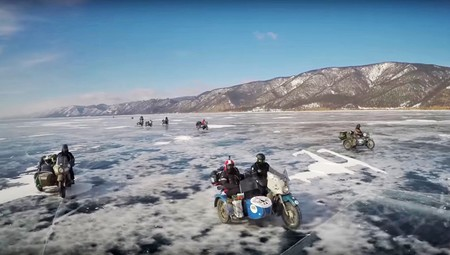 The Ice Run Lago Baikal