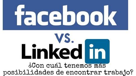 Encontrar trabajo a través de los contactos de Facebook es más fácil que a través de LinkedIn