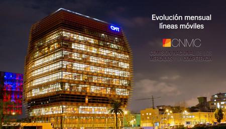 Continúa la portabilidad de líneas desde Movistar, Orange y Vodafone a MásMóvil y OMVs, según la CNMC