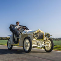 Así luce el único Laurin & Klement BSC de 1908 que se conserva, y que Škoda ha incorporado a su museo