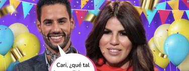 Isa Pantoja, boquiabierta ante la romántica sorpresa de Asraf por su segundo aniversario de novios