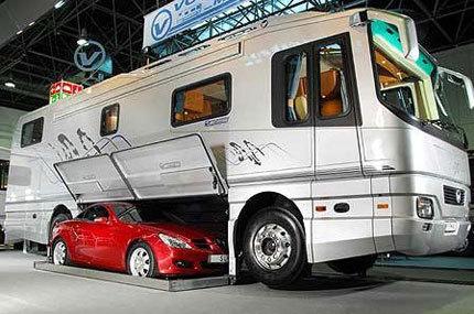 La autocaravana para los hipermegaricos