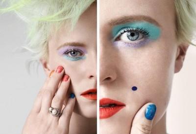Louise Gray y su línea de maquillaje para Topshop ¡A todo color!