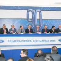 Se coloca la primera piedra en la nueva Planta de Motores Ford en Chihuahua