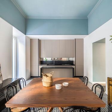 Cocinas abiertas; como diseñarlas para que se integren con coherencia en el salón