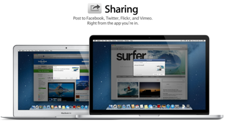 Compartir en Mountain Lion