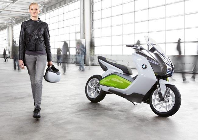 Moto eléctrica BMW Concept e-scooter