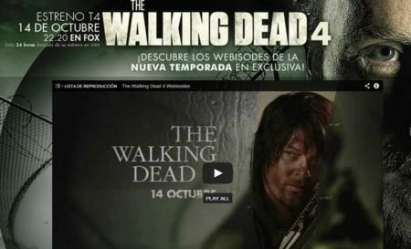 Los webisodios de la cuarta temporada de The Walking Dead hacen su ...
