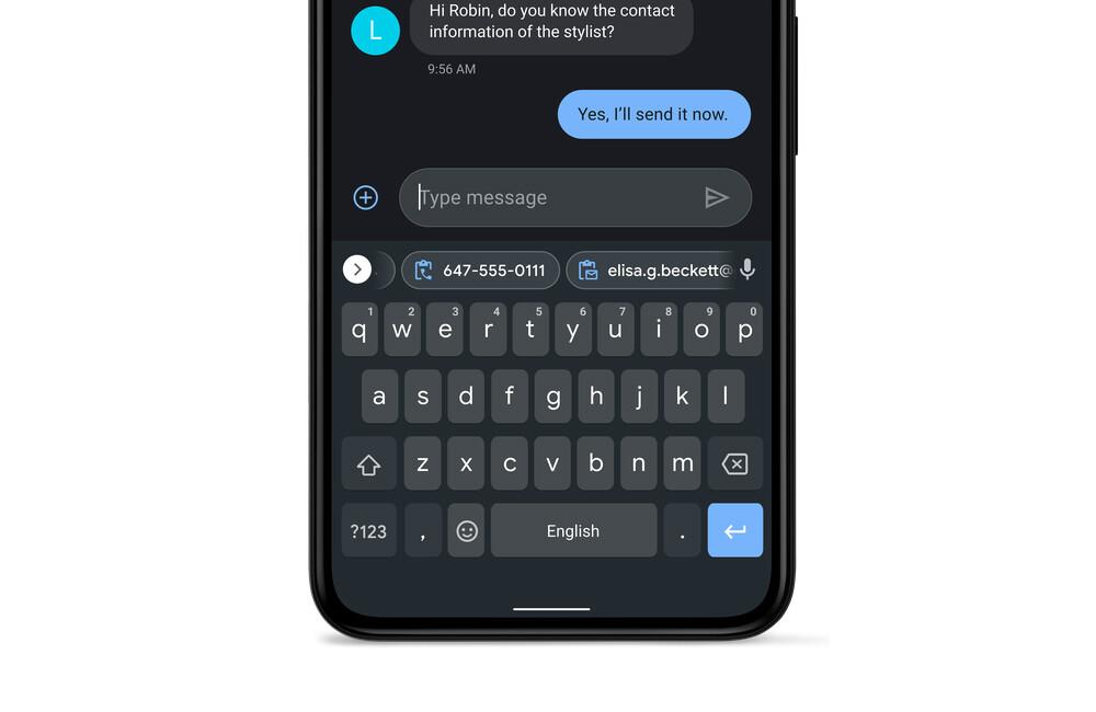 Gboard Beta ya permite desactivar su portapapeles inteligente de direcciones y teléfonos