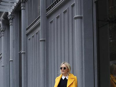 Las 33 prendas impresionantes en los tres colores de otoño: berenjena, verde y amarillo dorado