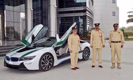 Bmw I8 Policia Dubai